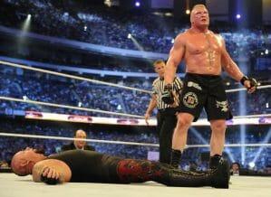 Brock Lesnar: the New Streak in WWE