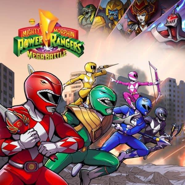 Power Rangers Mega Battle Review