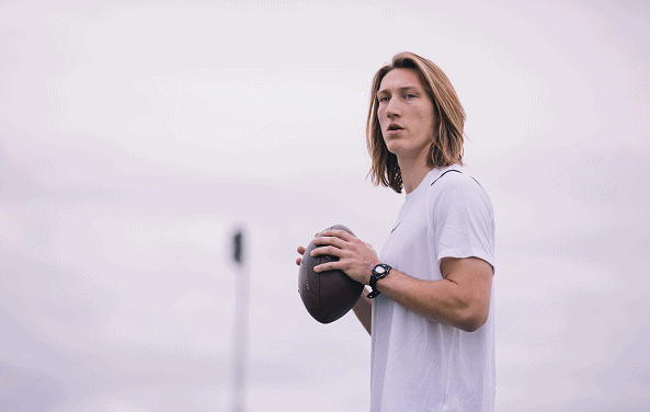 Trevor Lawrence Works Out Ahead of the 2021 NFL Draft