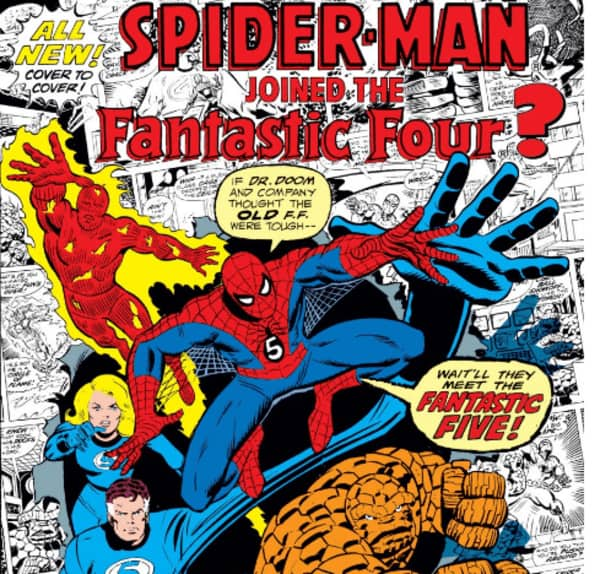 What If: Spider-Man Joins Fantastic Four