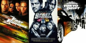 The Fast And The Furious 1-3