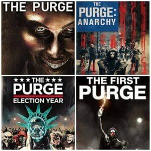 The Purge Movies 2013-2018