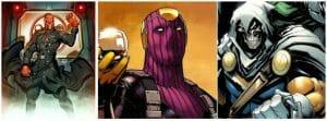 Captain America Villains Red Skull Baron Zemo Taskmaster