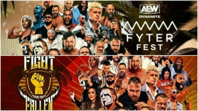 AEW Dynamite Fyter Fest and Fight for the Fallen 2021