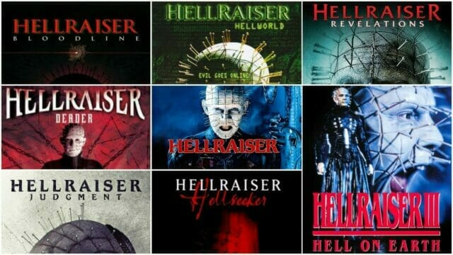 Hellraiser Film Series Review Part 2 from Clive Barker