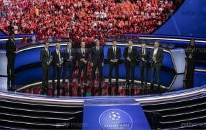 The 2021 UEFA Champions League Draw Was a Big Affair