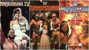 Wrestlemania 4 and 5