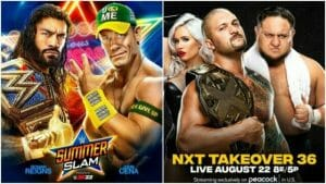 SummerSlam 2021 NXT Takeover 36