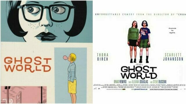 Ghost World Comic and Movie