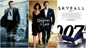 The Daniel Craig James Bond Movies 2006-2012