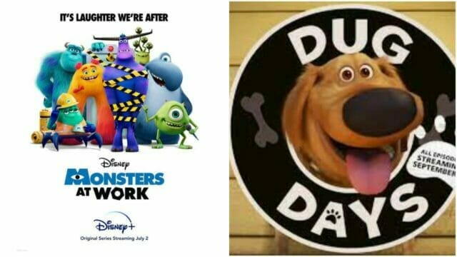 Monsters at Work and Dug Days