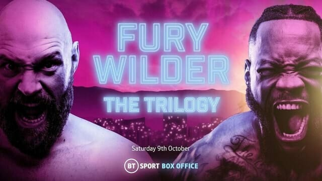 Tyson Fury vs Deontay Wilder III Alternative Commentary