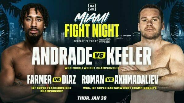 Demetrius Andrade vs Luke Keeler Alternative Commentary