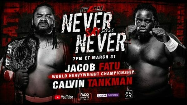 MLW Never Say Never 2021 Alternative Commentary