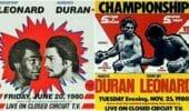 The Four Kings of Boxing: Leonard vs Duran 1&2